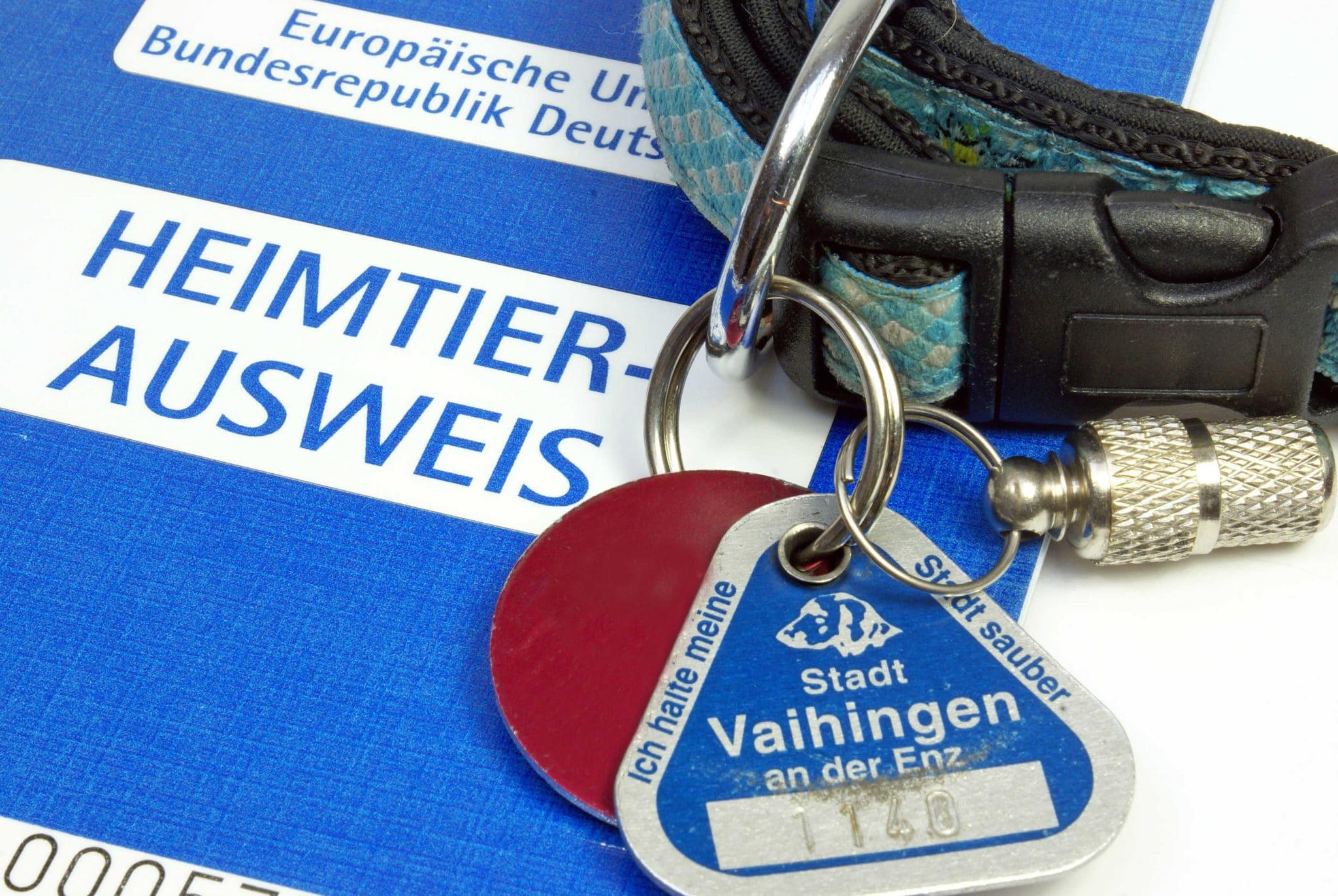 EU-Heimtierausweis für die Reise ins EU-Ausland.