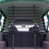 Schutzgitter zwischen Kofferraum und Fahrzeugraum