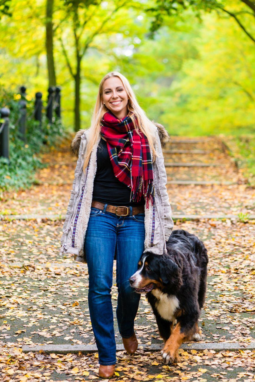 Spaziergänge Berner Sennenhund